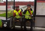 I en busskur kan man göra mycket?