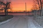 Köping en morgon
