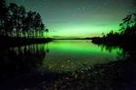 Natt vid sjö
