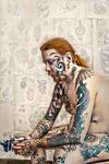 den nakne tatueraren