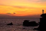 Solnedgång Vietnam