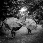 En tur i regnet