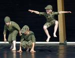 Pojkarna dansar