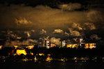 Natt över Huvudsta