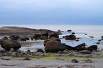 Apelviken strand en mulen sommardag