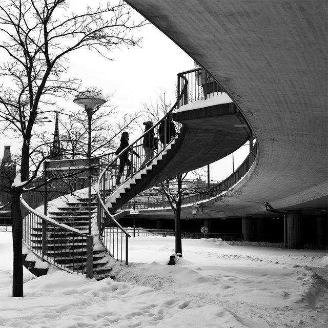 Sväng i trappan
