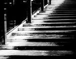 Sliten trappa