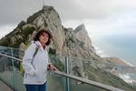 Hustru på Gibraltars topp