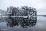 Vy över sjön Toften