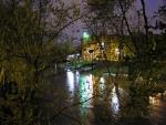 Flod och hus