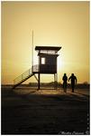 Lifeguard tower in Pärnu