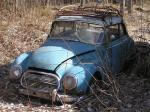 En gammal Audi