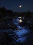 Månen vid Hylströmmen