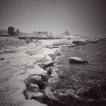 Isig kust i Snödrift