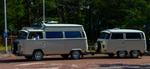 Volkswagenbuss och släp