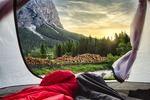 Att vakna upp i bergdalen