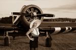 Sandra och flygplan SV