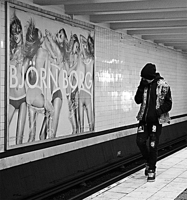 Punkaren och Björn Borg