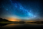 En stjärnklart natt i höstas
