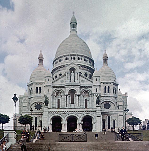 Sacrecuerkyrkan i Paris 1960