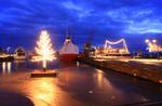 Julefrid i hamnen