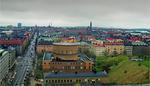 Stockholm Skyline Stockholms Stadsbibliotek 1987