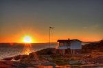 Solnedgång vid Mollösund