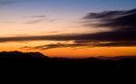 Solnedgång över Topanga Valley