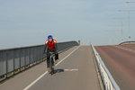 Cykelist på Västerbron