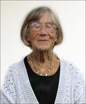 Anna  99 år,  i dag den 11 juni 2014
