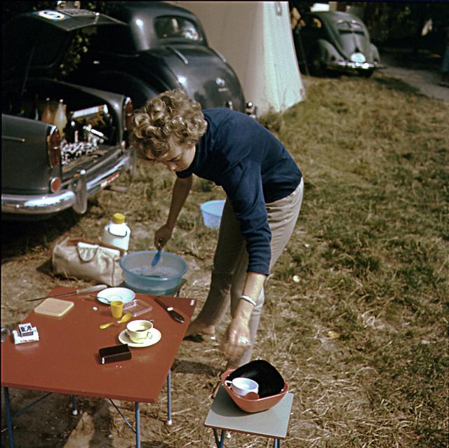 På en campingplats i Paris 1960 copy