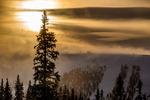 Sol, moln och fjäll