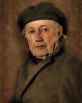 Självportrait efter Rembrandt