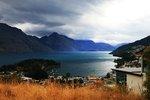 Utsikt över Queenstown-Nya Zeeland