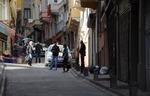 Istanbul street.