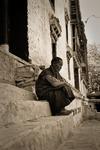 En munk i Hemis i sina egna tankar