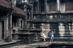 Angkor Wat, Siem Reap, Kambodja