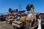 Vy mot fiskemarknaden