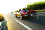 Corvette Stingray mot solen