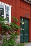 Porten till dåtiden på Övre Slottsgatan i Uppsala