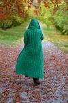 Kvinna i grönt