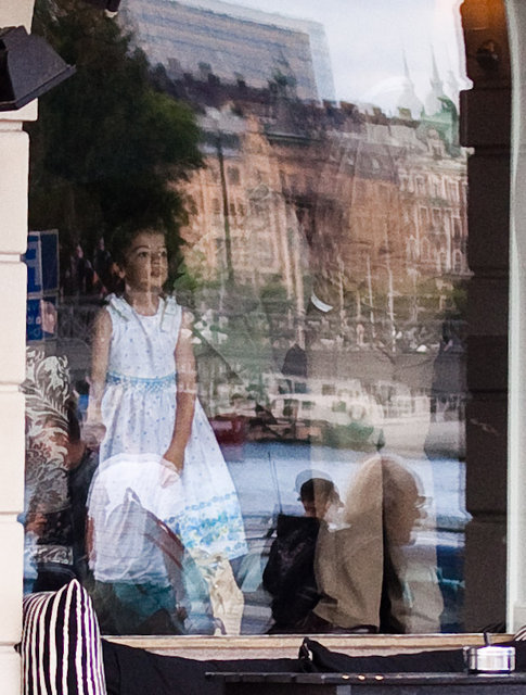 Flickan i fönstret