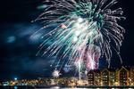 Fyrverkeri Sundsvall nyårsafton 2019-2020