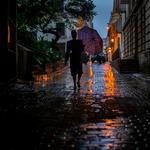 Cuba, by night