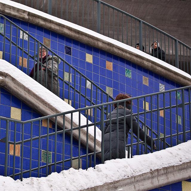 Blå trappan