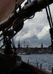 stockholm från vattnet