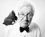 the great old man and his parrot