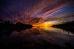 Vänersk solnedgång