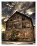 Forgotten house in the center of town  Edit Two