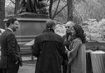 Discussion in Central park